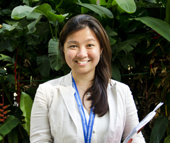 Angel Chiang is passionate about Literature and uses popular culture to spark her students' interest in the classroom.